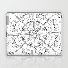 """""""Young Heart""""- We are the ocean // white mandala Laptop & iPad Skin"""