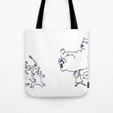 a dose of polar bear Tote Bag
