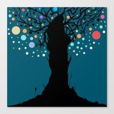 The tree. Canvas Print