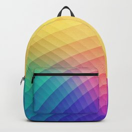 Spectrum Bomb! Fruity Fresh (HDR Rainbow Colorful Experimental Pattern) Backpack
