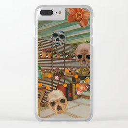 The Evolution Room Clear iPhone Case