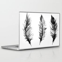 Watercolor Feathers Laptop & iPad Skin