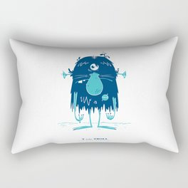 T is for Troll Rectangular Pillow