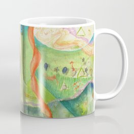 Song for Rainbow Parrot Coffee Mug