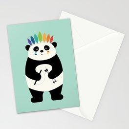 Be Brave Panda Stationery Cards