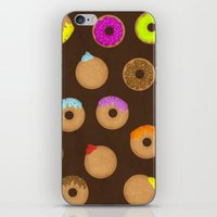 donuts iPhone & iPod Skins featuring Donuts by Reg Silva / Wedgienet.net