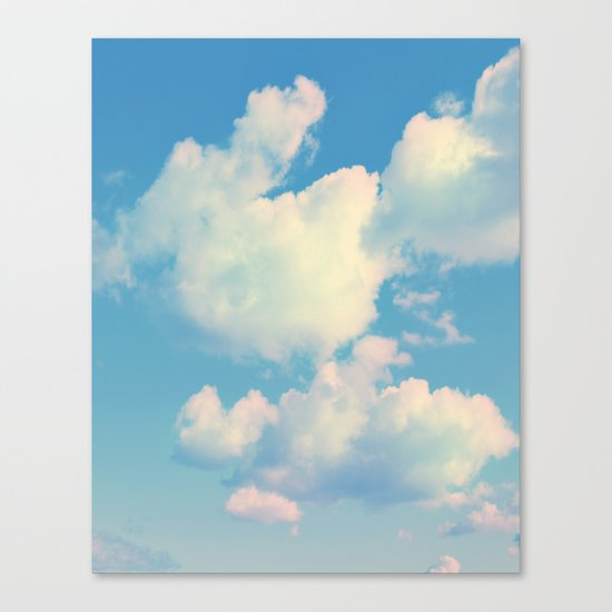 The Colour of Clouds 04 Canvas Print