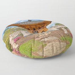 Korean Bell Garden Floor Pillow