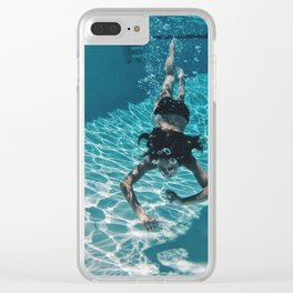 UNDERWATER DIVE Clear iPhone Case