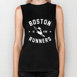 Women_s Boston Is For Runners Long Sleeve Tee Ladies_ Running Marathon Triathalon boston Biker Tank