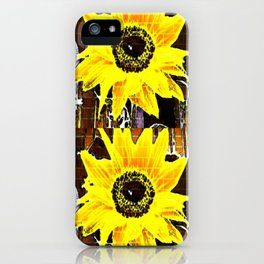 Sunflower Love iPhone Case