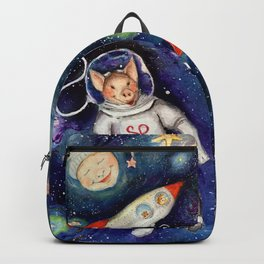 Ground Control to Super Pig Backpack