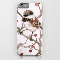 Chickadee & Berries iPhone 6s Slim Case