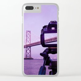 Bay Bridge Capture Clear iPhone Case