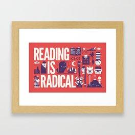 Reading is ... Framed Art Print