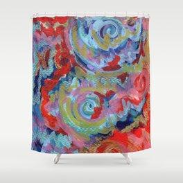 Kundalini Rising Shower Curtain