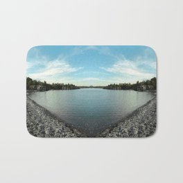 Lake Superior Mirror 1 [Jordan E. Eismont, Cecilia Lee] Bath Mat