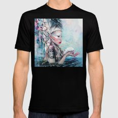 Yolandi The Rat Mistress 	 Black MEDIUM Mens Fitted Tee