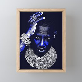 𝐇.𝕋.Ǥ.b.ㄚ. Rap Hip Hop Society6 Fabolous - Greg Yuna Jewelry Rap Music Hip Hop NYC Brooklyn Framed Mini Art Print