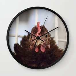 The Little Red Hen Wall Clock