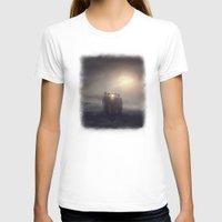 la T-shirts featuring La Reunion by Viviana Gonzalez