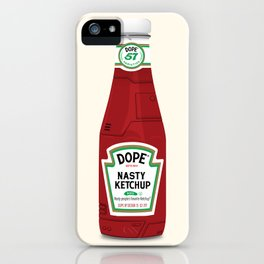 Nasty Ketchup iPhone Case