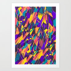 Future Shapes Art Print