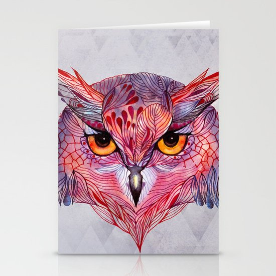 Owla owl Stationery Cards