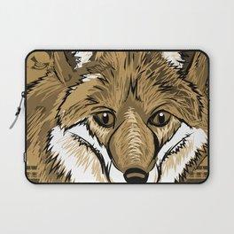 FOX Sketch Mono w/background Laptop Sleeve