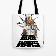 Star War Action Figures Poster Tote Bag