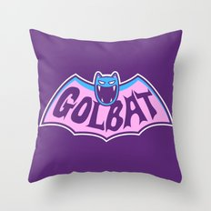 Focus Your Inner Bat Throw Pillow
