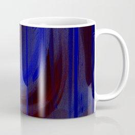 blue matrix Coffee Mug