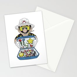 Mario - Fear And Loathing In Las Vegas Stationery Cards