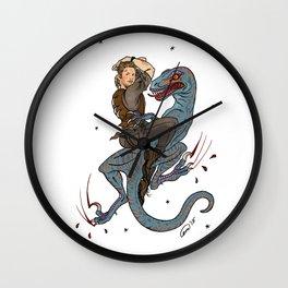 Jurassic World Pin-Ups ~ Owen Grady Wall Clock