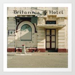 Britannia Hotel Art Print