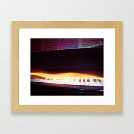 Rhythm of Fire Framed Art Print
