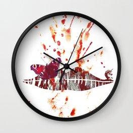 Bloody Lips Wall Clock