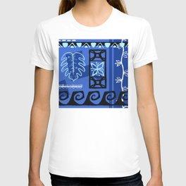 Hawaiian Pattern #1 - blue! T-shirt