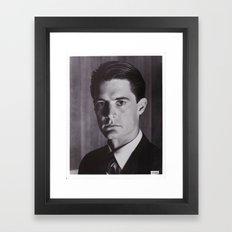 COOPER AGENT Framed Art Print