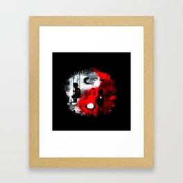 Duo Alone Framed Art Print