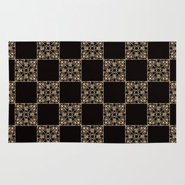 Abstract geometric pattern 2 Rug