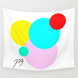 Color Bubbles 1 Wall Tapestry