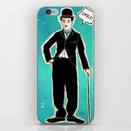 The Tramp/Charlie Chaplin iPhone Skin