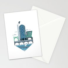 Welcome to the Riverside Quarter Stationery Cards