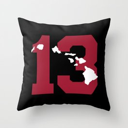 Aloha Tua Throw Pillow