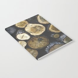 Stacked wood Notebook