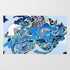 Swimming in the mind Rug