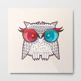 Owl - Owl Metal Print