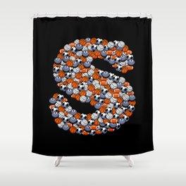 Sports! Shower Curtain