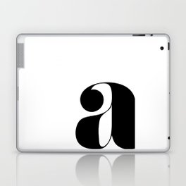 "letter ""a"" Laptop & iPad Skin"